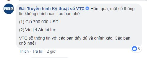 Đài VTC bác bỏ tin đồn Vietjet tài trợ mua bản quyền ASIAD 2018 - Ảnh 1.