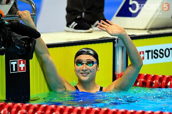 Nét đáng yêu của hot girl bơi lội Nhật Bản giành 3 HCV, phá 3 kỷ lục ASIAD - Ảnh 1.