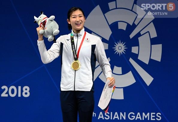 Nét đáng yêu của hot girl bơi lội Nhật Bản giành 3 HCV, phá 3 kỷ lục ASIAD - Ảnh 5.
