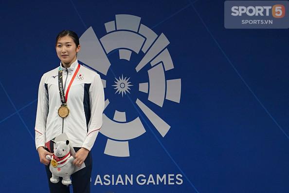Nét đáng yêu của hot girl bơi lội Nhật Bản giành 3 HCV, phá 3 kỷ lục ASIAD - Ảnh 6.
