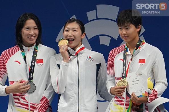 Nét đáng yêu của hot girl bơi lội Nhật Bản giành 3 HCV, phá 3 kỷ lục ASIAD - Ảnh 7.