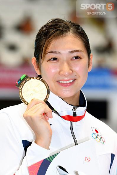 Nét đáng yêu của hot girl bơi lội Nhật Bản giành 3 HCV, phá 3 kỷ lục ASIAD - Ảnh 8.