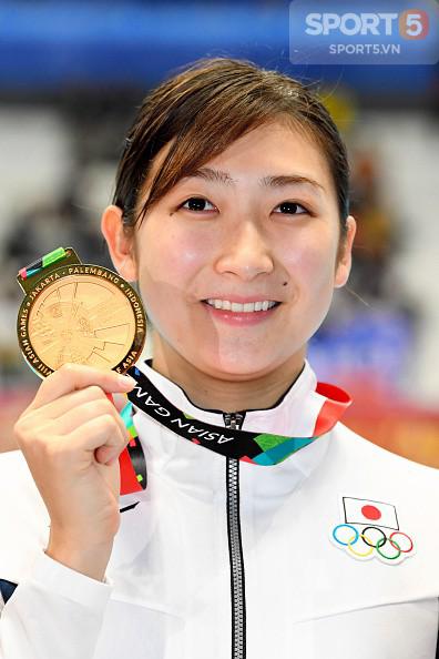 Nét đáng yêu của hot girl bơi lội Nhật Bản giành 3 HCV, phá 3 kỷ lục ASIAD - Ảnh 9.
