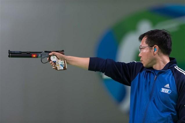 Hoàng Xuân Vinh gây thất vọng lớn, không thể vượt qua vòng loại tại Asiad 2018 - Ảnh 1.