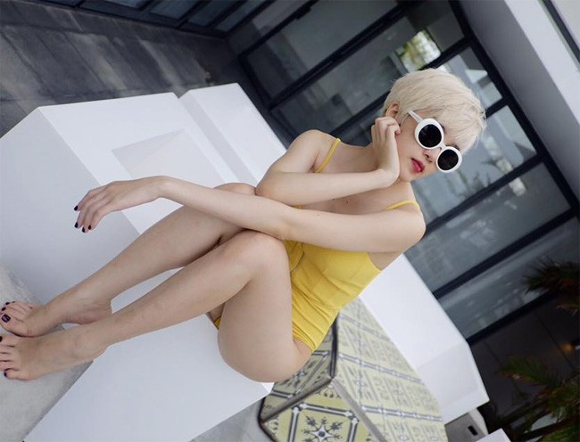 Bạn gái tin đồn của Sơn Tùng M-TP: Thân hình nóng bỏng, làn da trắng muốt - Ảnh 7.