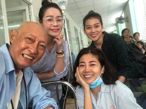 Cuộc gặp gỡ bất ngờ và xúc động giữa Mai Phương - nghệ sĩ Lê Bình  - Ảnh 2.