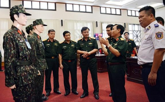 Lộ diện mẫu quân phục ngụy trang mới của QĐND Việt Nam: Có gì đặc biệt? - Ảnh 11.