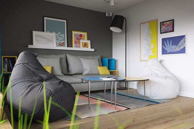 Mê mẩn với thiết kế căn hộ chỉ 34m² nhưng rất đa năng và hiện đại đến từng chi tiết - Ảnh 2.