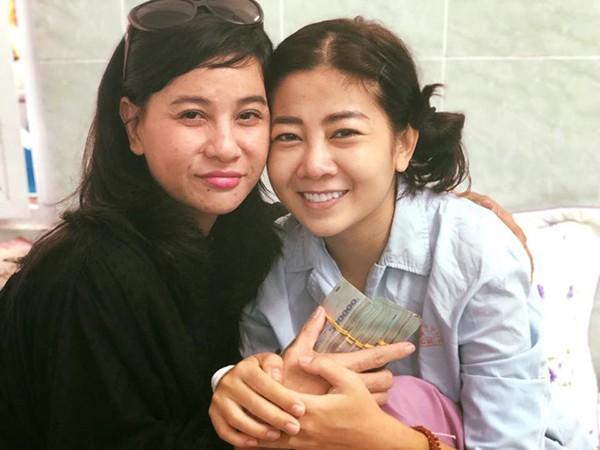 Cát Phượng và bạn trai quyên góp hơn 600 triệu ủng hộ Lê Bình, Mai Phương - Ảnh 1.