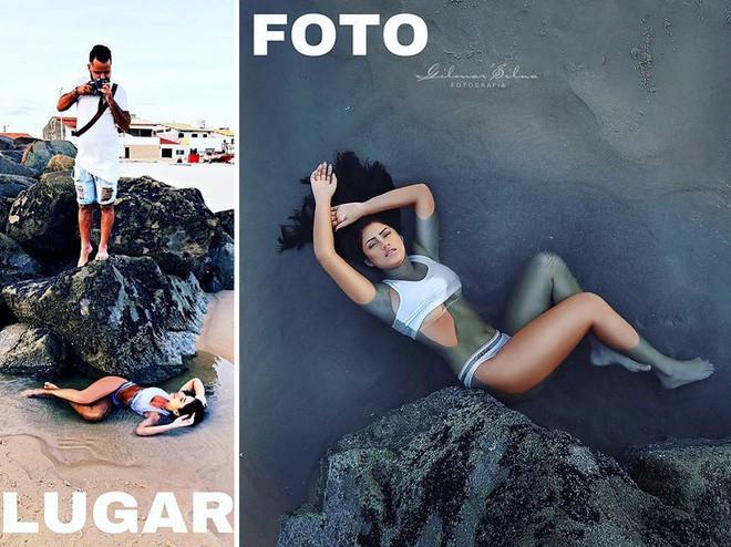 Thánh chụp ảnh Photoshop phong cách siêu tiết kiệm: Bãi lá khô cũng thành thắng cảnh, khu nước cạn cũng hóa hồ tiên - Ảnh 2.