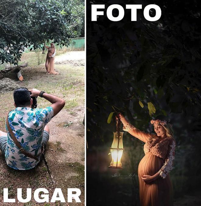 Thánh chụp ảnh Photoshop phong cách siêu tiết kiệm: Bãi lá khô cũng thành thắng cảnh, khu nước cạn cũng hóa hồ tiên - Ảnh 5.