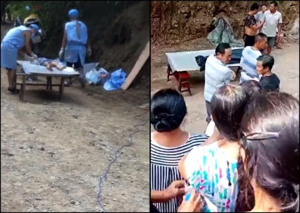 Thi thể không toàn vẹn của bé gái 8 tuổi được phát hiện trong rừng tre, cảnh sát nghi ngờ hung thủ chính là mẹ kế - Ảnh 3.