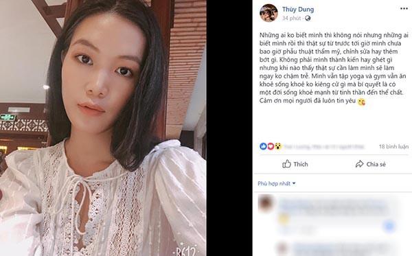 Mặt mộc và vẻ gợi cảm của Hoa hậu Việt Nam tuyên bố không phẫu thuật thẩm mỹ - Ảnh 1.