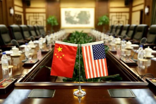 Tư lệnh hải quân Trung Quốc thăm Mỹ bất chấp căng thẳng - Ảnh 1.