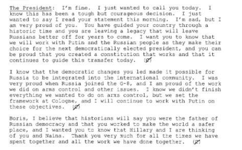Tiết lộ tài liệu mật về Boris Yeltsin và Bill Clinton những năm 90 - Ảnh 1.