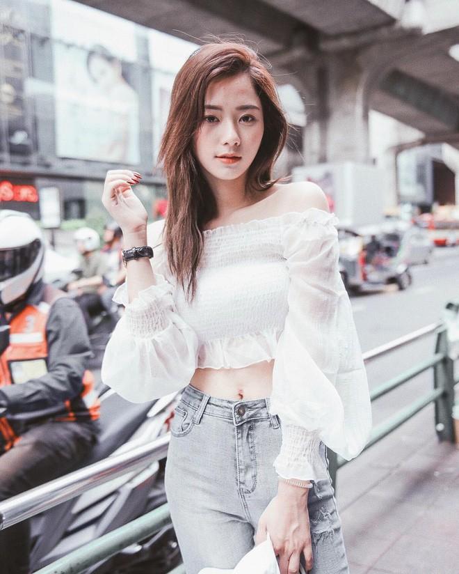 Hot girl Thái Lan sinh năm 1997 có gương mặt xinh xắn giống hệt Krystal (Fx) - Ảnh 13.