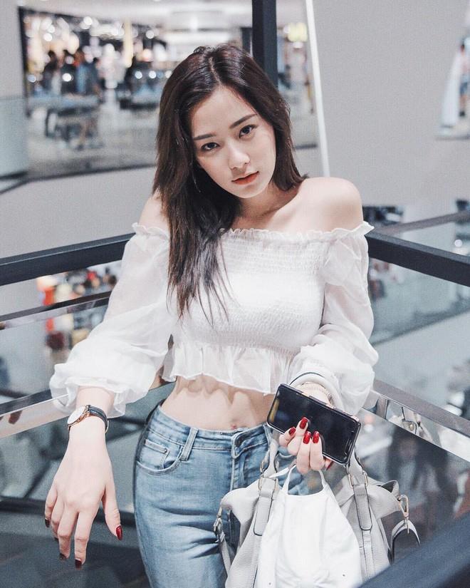 Hot girl Thái Lan sinh năm 1997 có gương mặt xinh xắn giống hệt Krystal (Fx) - Ảnh 14.