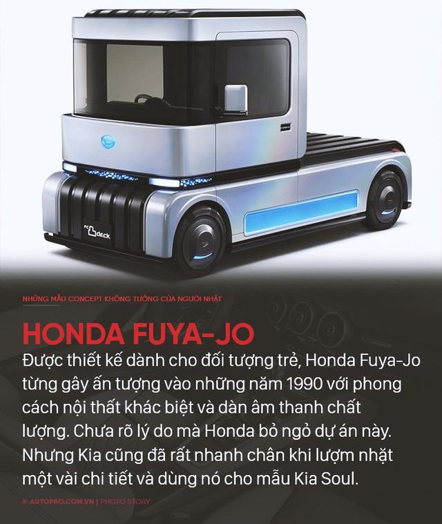 Nếu không làm xe bền bỉ qua năm tháng thì người Nhật sẽ tung ra những concept không ai nghĩ tới như thế này - Ảnh 6.