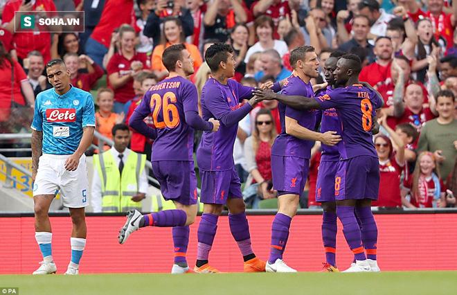 Sau màn vùi dập Man United, Liverpool dìm thêm Á quân Serie A trong mưa bàn thắng - Ảnh 3.