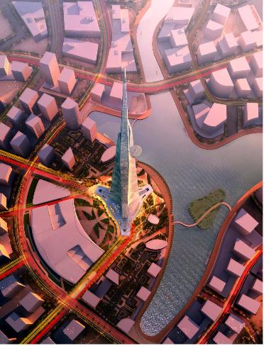 Ả-rập chi hơn tỷ USD xây tòa nhà cao nhất địa cầu - Ảnh 2.