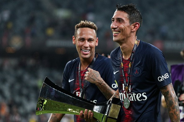 Hủy diệt Monaco trong trận Siêu cúp Pháp, Neymar cùng đồng đội đột kích phòng họp báo và tưới bia lên đầu HLV Tuchel - Ảnh 6.
