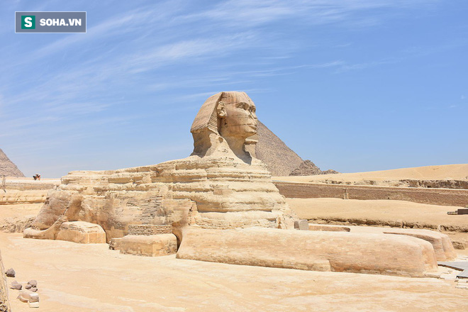 Phát hiện bức tượng Nhân Sư thứ hai nằm trong lòng đất Ai Cập - Ảnh 1.
