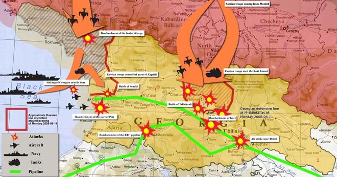 Cuộc chiến Gruzia và những yếu tố khiến NATO kinh hãi trước sức mạnh của Nga  - Ảnh 4.