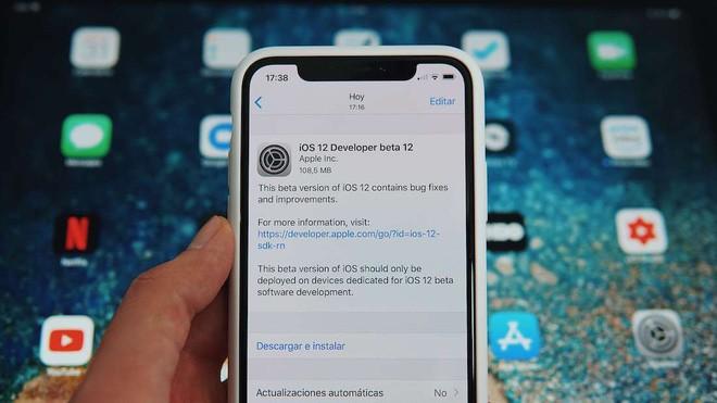 Apple phát hành iOS 12 Beta 12: Sửa lỗi thông báo cập nhật gây khó chịu trên bản Beta 11 - Ảnh 3.