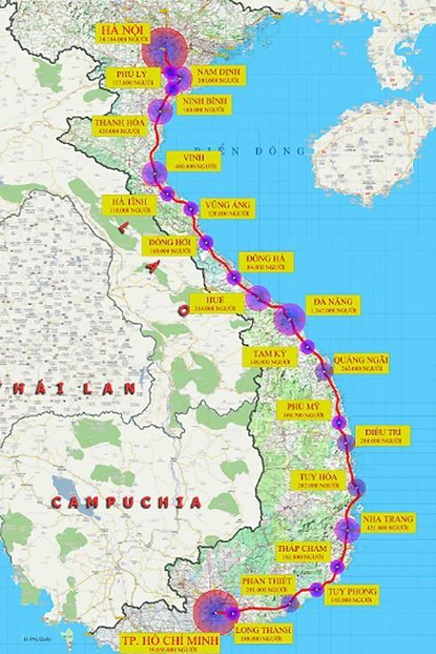 Siêu dự án đường sắt cao tốc Hà Nội - TP.HCM đi nhanh như máy bay: Tiết lộ giá vé dự kiến - Ảnh 1.