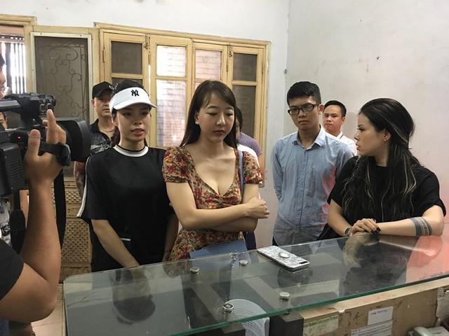 Vụ Giám đốc xin đi tù: Khách hàng thuê người mẫu đến đòi nợ GNN Express - Ảnh 2.
