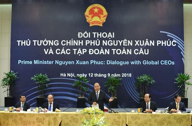 Điều đặc biệt ở cuộc gặp của Thủ tướng Nguyễn Xuân Phúc có 20 tập đoàn toàn cầu - Ảnh 1.