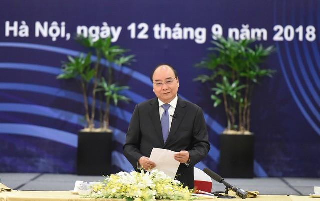 Điều đặc biệt ở cuộc gặp của Thủ tướng Nguyễn Xuân Phúc có 20 tập đoàn toàn cầu - Ảnh 2.