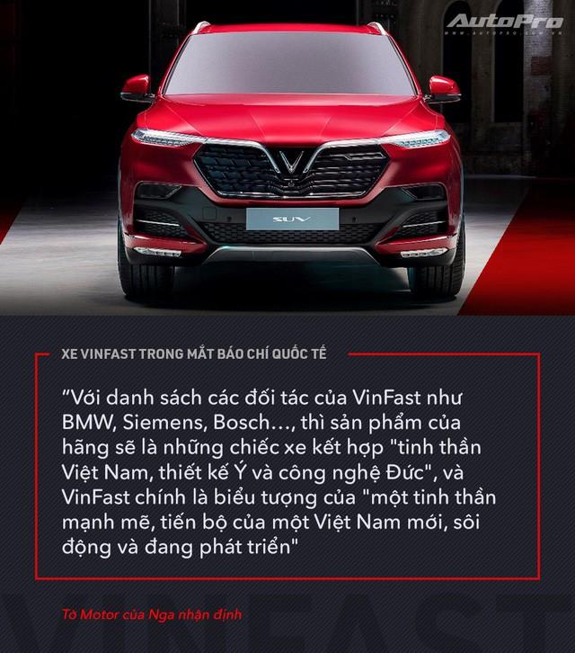 Từ Tây sang Đông, xe VinFast được giới truyền thông quốc tế mổ xẻ như thế nào? - Ảnh 14.