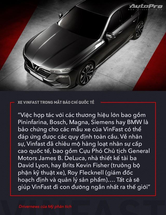 Từ Tây sang Đông, xe VinFast được giới truyền thông quốc tế mổ xẻ như thế nào? - Ảnh 8.