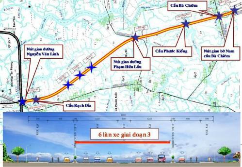 TP.HCM làm các con phố 8.500 tỷ ở khu Nam, đại gia địa ốc muốn đổi lấy 1.300ha đất ở Hiệp Phước - Ảnh 1.