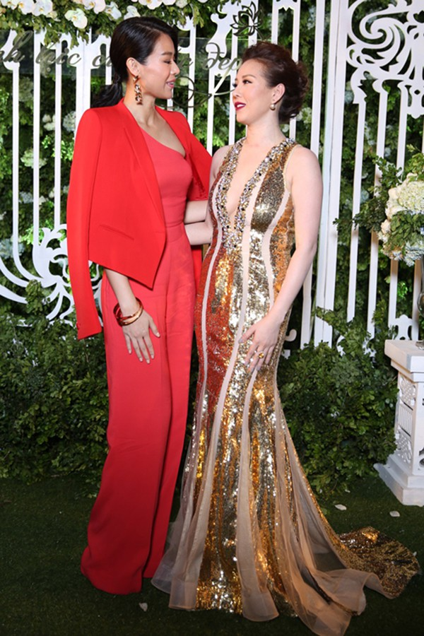 Hoa hậu Thu Hoài thích thú được sao đình đám TVB tặng hàng hiệu hơn 100 triệu đồng - Ảnh 4.