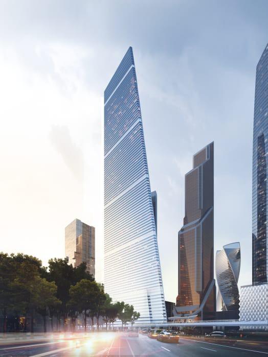 Tòa nhà siêu mỏng cao 404 m, qui mô chỉ 32 m2 sắp xuất hiện ở Nga - Ảnh 1.