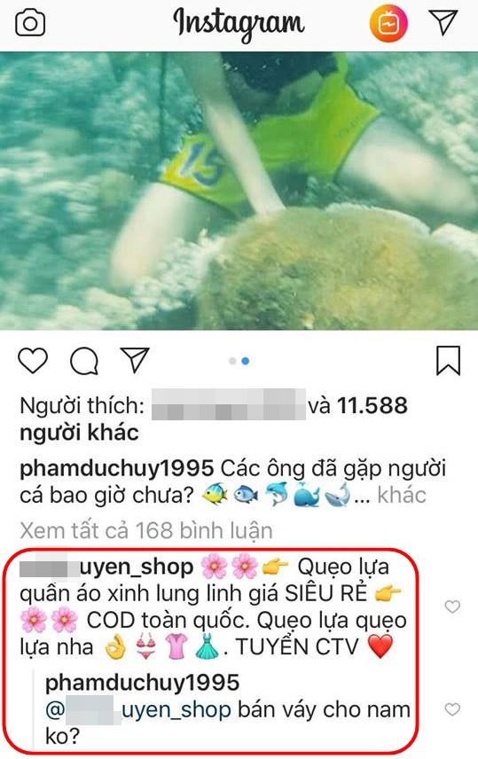 Đang đi lặn biển, Đức Huy vẫn vào dằn mặt thanh niên lợi dụng bán hàng online - Ảnh 3.