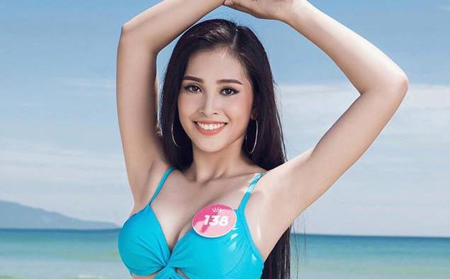 Tân Hoa hậu Việt Nam 2018 Trần Tiểu Vy: Thí sinh nhỏ tuổi nhất, vấp ngã khi thi Người đẹp biển