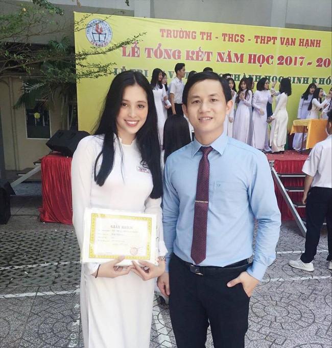 Mẹ là chủ spa có tiếng nhưng Tân Hoa hậu Việt Nam lại chỉ học ở một trường cấp 3 bình dân tại TP.HCM - Ảnh 1.