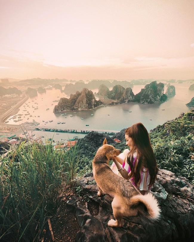 Công chúa tóc mây gốc Việt khoe ảnh du lịch toàn địa danh nổi tiếng ở Việt Nam, người thì xinh mà cảnh đẹp mê ly - Ảnh 9.