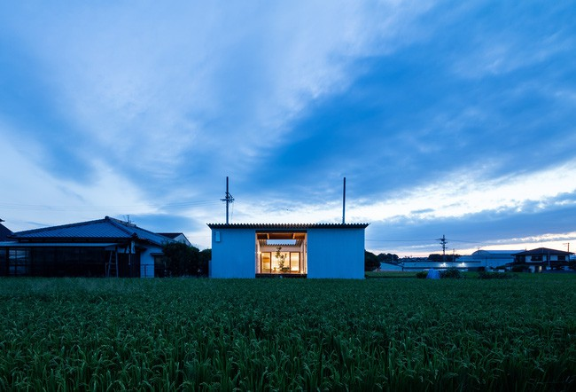 Đỉnh như ngôi nhà cấp 4 Nhật Bản: Xây giữa cánh đồng vẫn được khen hết lời - Ảnh 1.