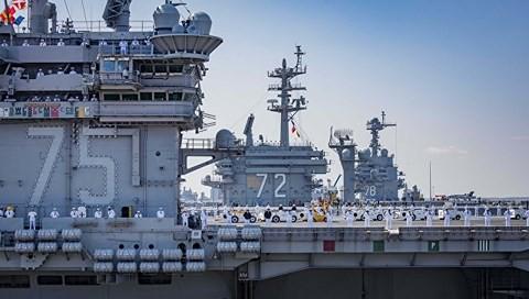 Nhóm tác chiến tàu sân bay Mỹ tiến vào Biển Địa Trung Hải làm gì? - Ảnh 2.