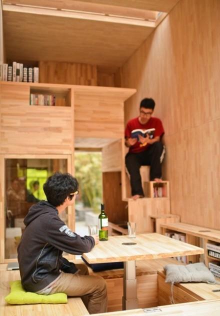Căn nhà gỗ 7m2 siêu tiện nghi có thể mang đi bất cứ đâu - Ảnh 6.