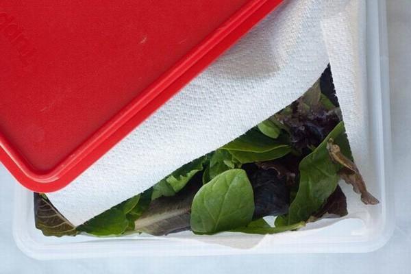 Trước khi cho các loại rau vào tủ lạnh, chị em nhớ thêm 1 thao tác này để rau cả tuần vẫn tươi như mới - Ảnh 7.