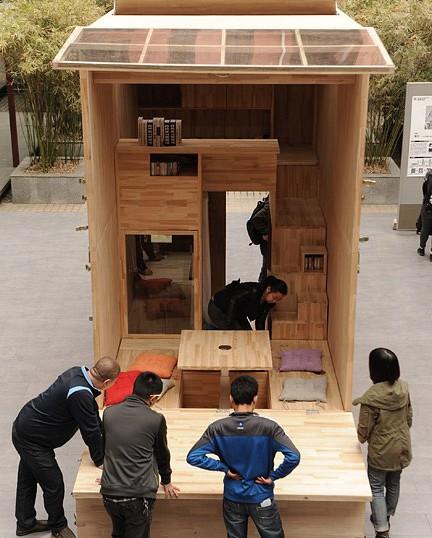 Căn nhà gỗ 7m2 siêu tiện nghi có thể mang đi bất cứ đâu - Ảnh 8.