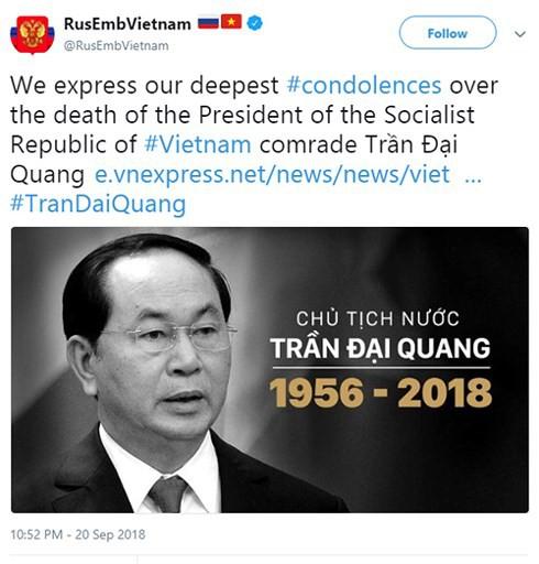 Truyền thông quốc tế đưa tin Chủ tịch nước Trần Đại Quang qua đời - Ảnh 2.