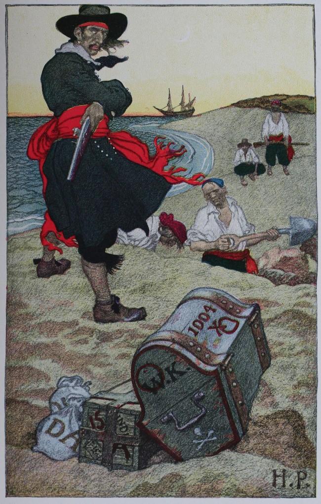 Sự thật kỳ lạ về cướp biển: Đeo bịt mắt không phải vì chột, có cả bảo hiểm y tế ngàn đô - Ảnh 1.