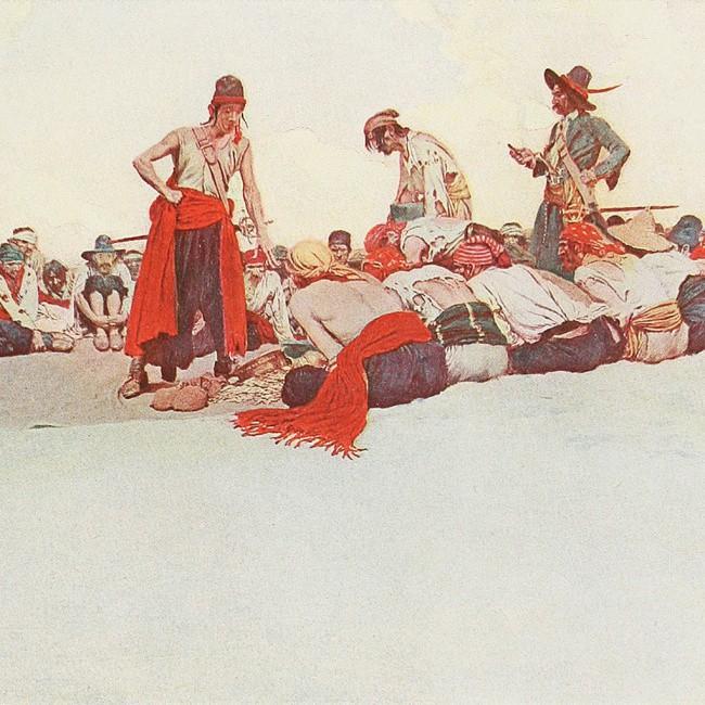 Sự thật kỳ lạ về cướp biển: Đeo bịt mắt không phải vì chột, có cả bảo hiểm y tế ngàn đô - Ảnh 7.