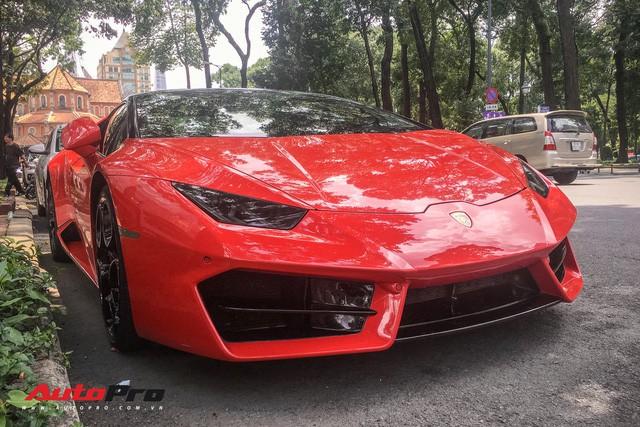 Lamborghini Huracan LP580-2 Thứ nhất Việt Nam về tay đại gia Sài Gòn - Ảnh 4.